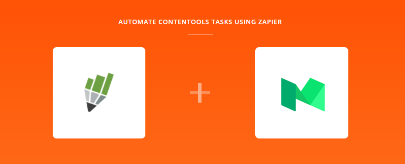 contentools e medium via zapier